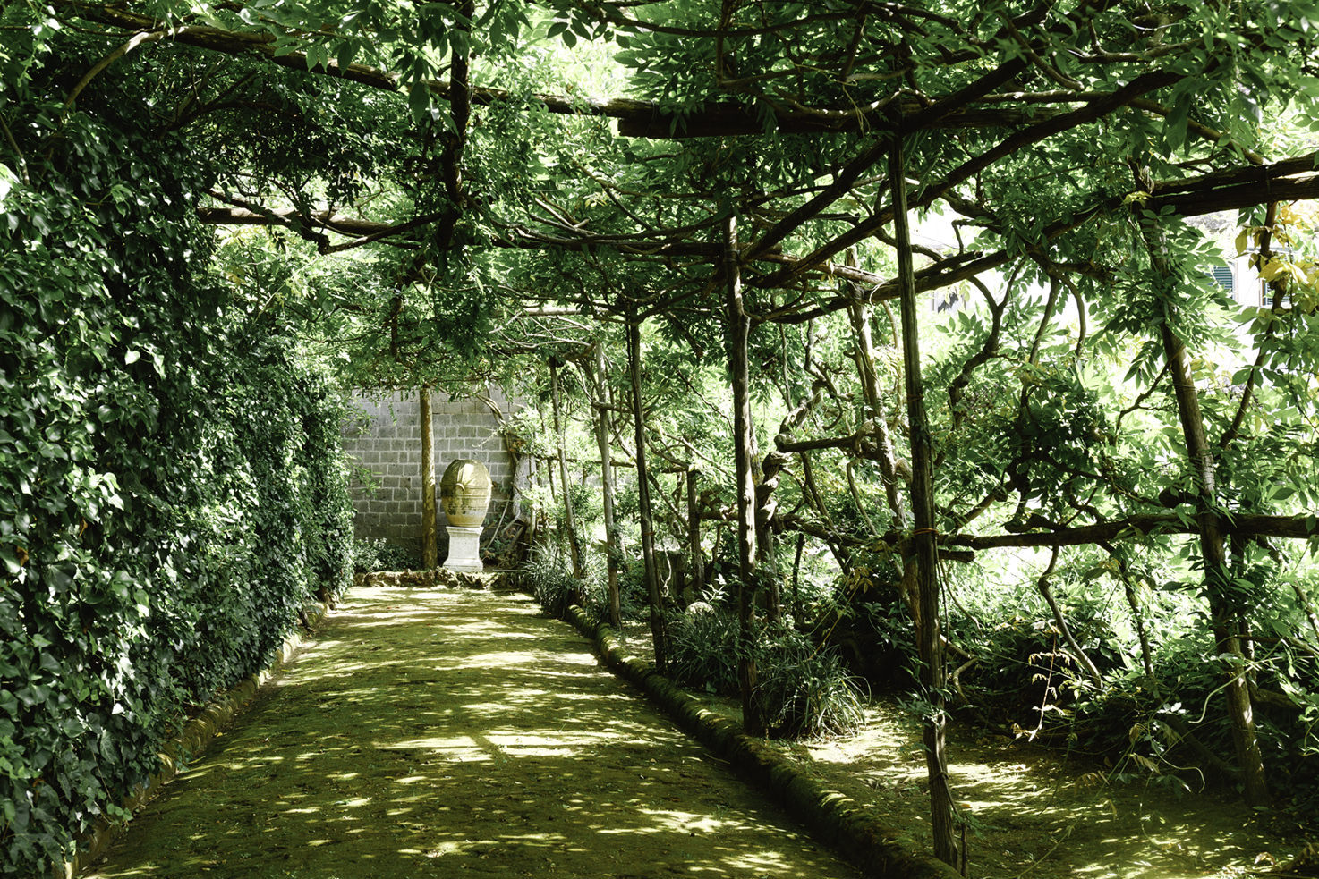 Gardens of Villa Astor in Sorrento