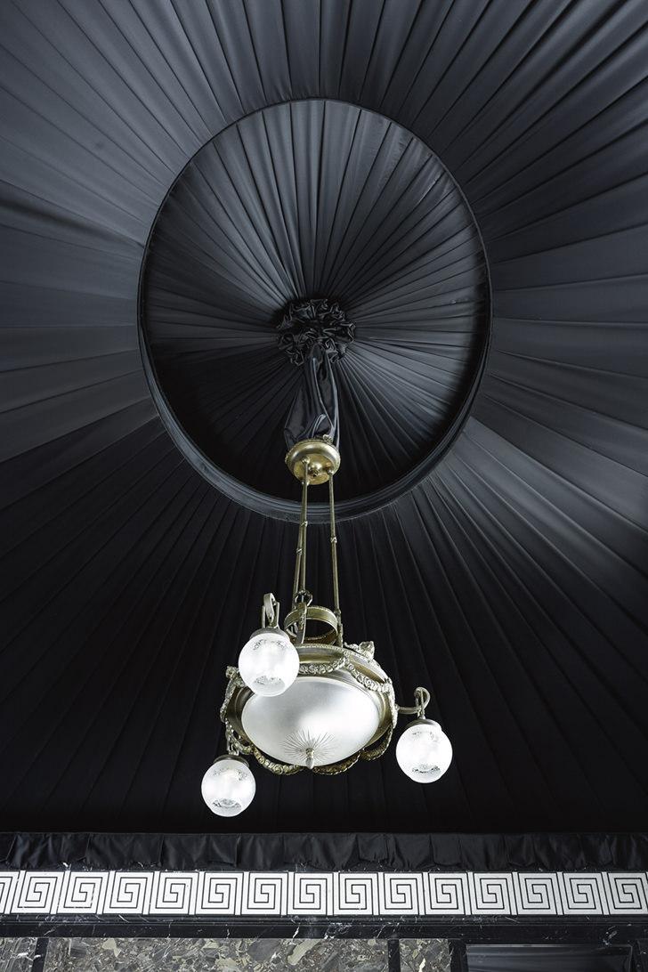 Silk ceiling