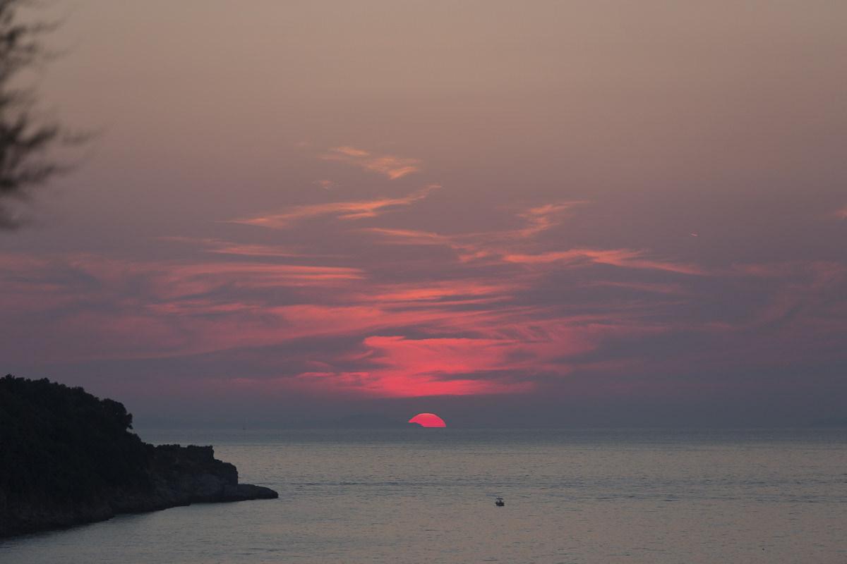 Sunset on the Mediterranean