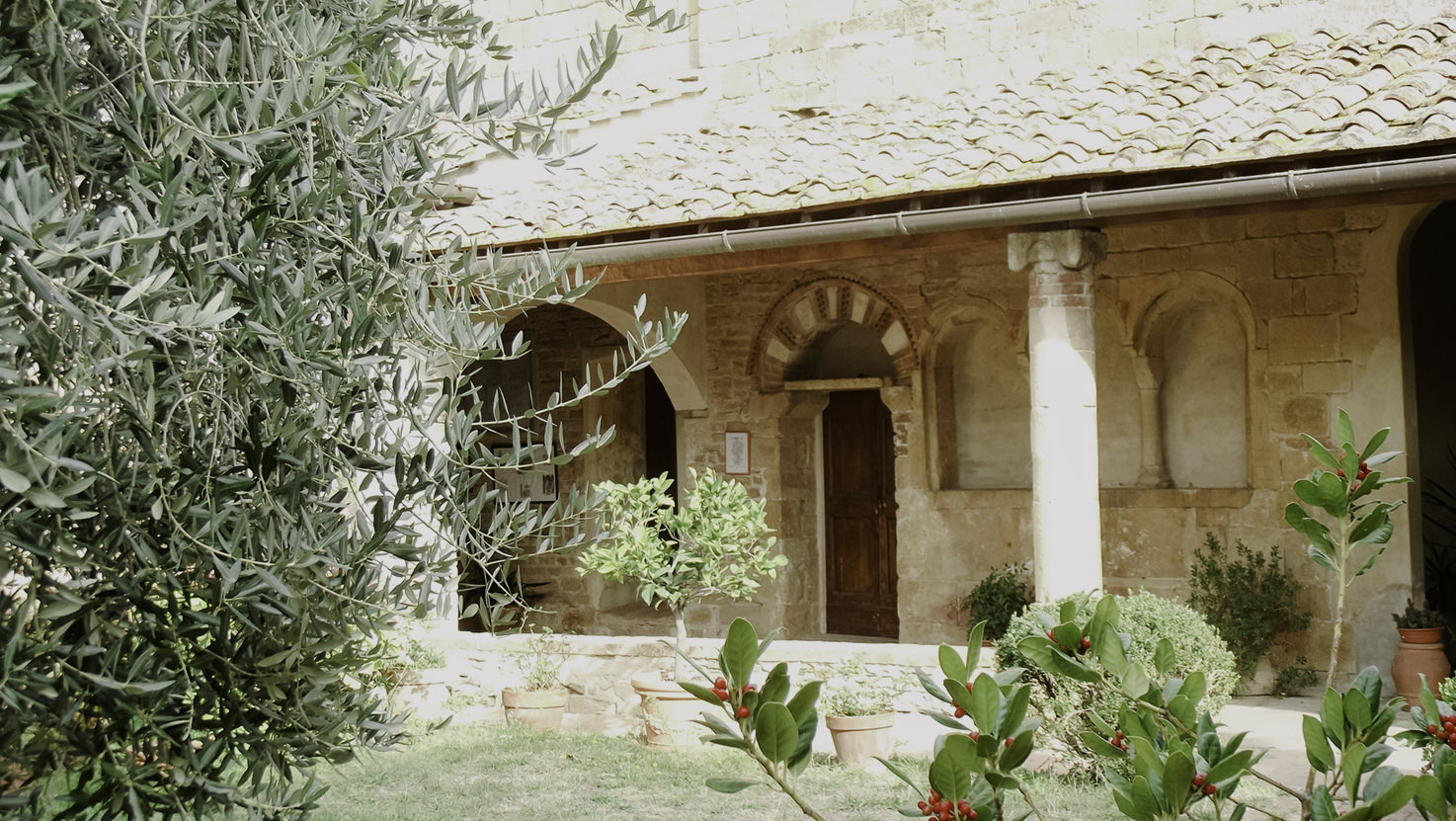 Cloister of Pieve di Sant'Appiano