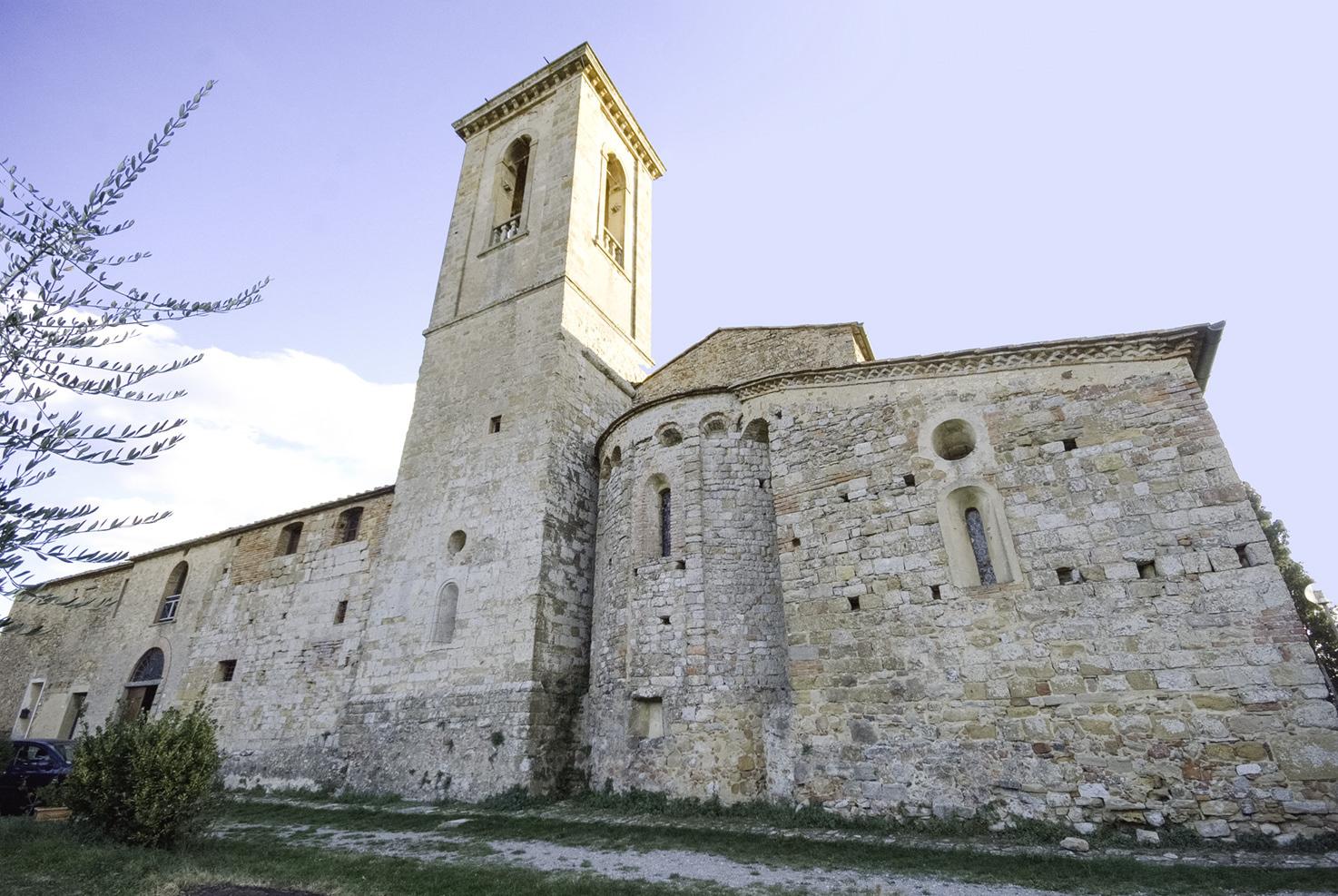 Exterior of Pieve di Sant'Appiano