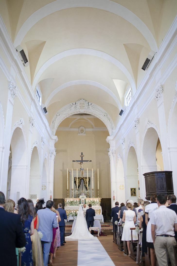 Interior of Pieve Santo Stefano a Campoli