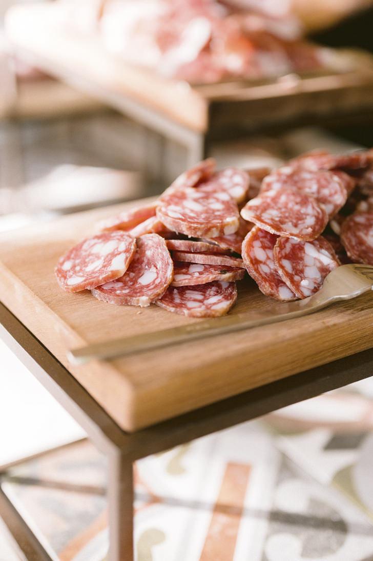 Tuscan salame