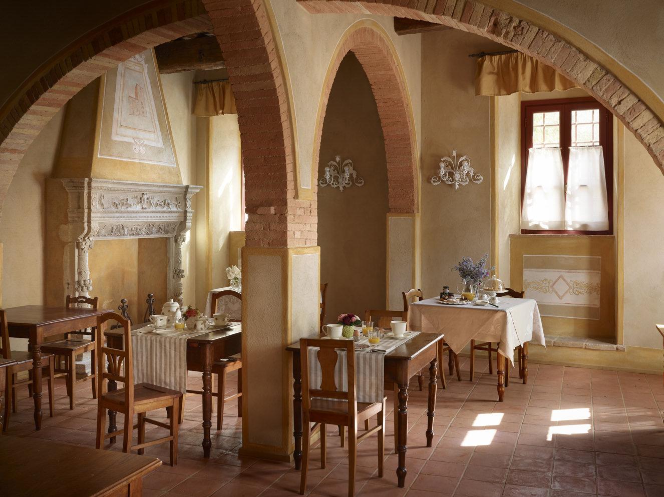 Interior of Borgo Petrognano