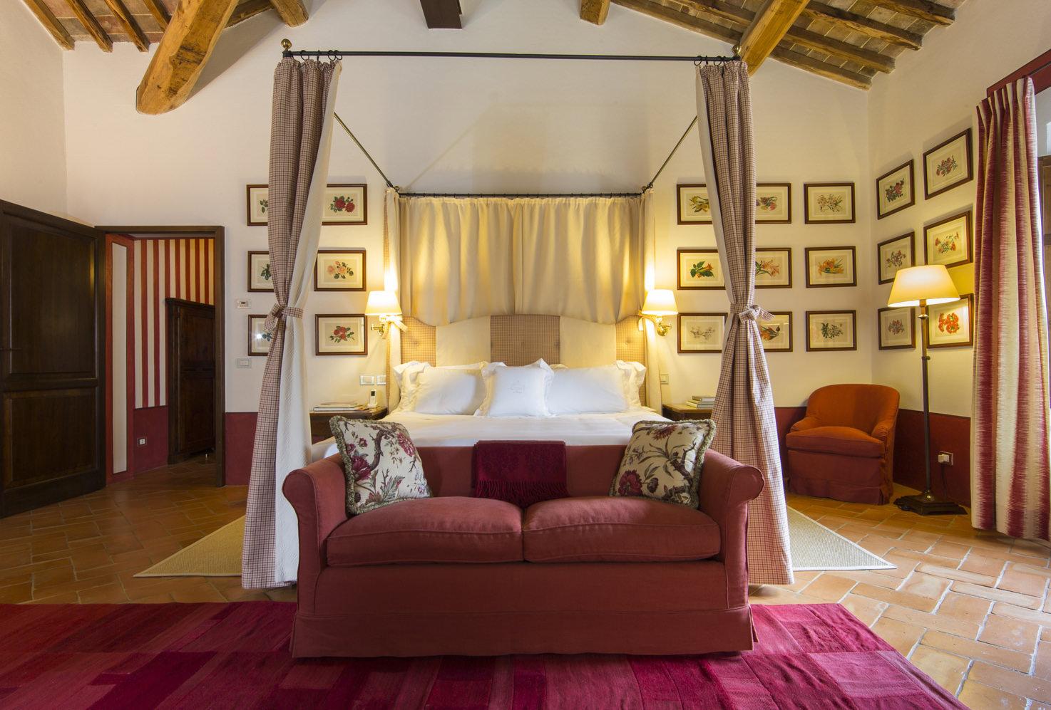 Accommodation at Castello Banfi