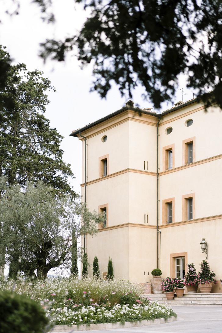 Exterior of Castello di Casole