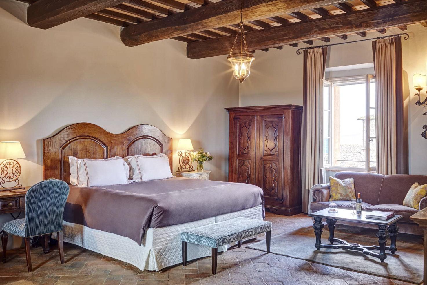 Suite at Castello di Casole