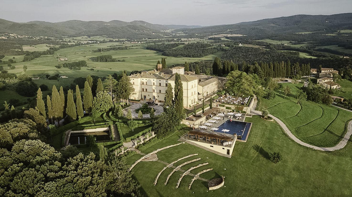 Castello di Casole for weddings in Tuscany
