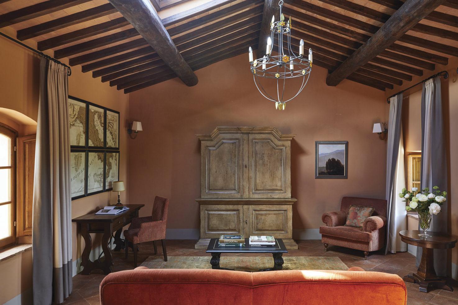 Accommodation at Castello di Casole