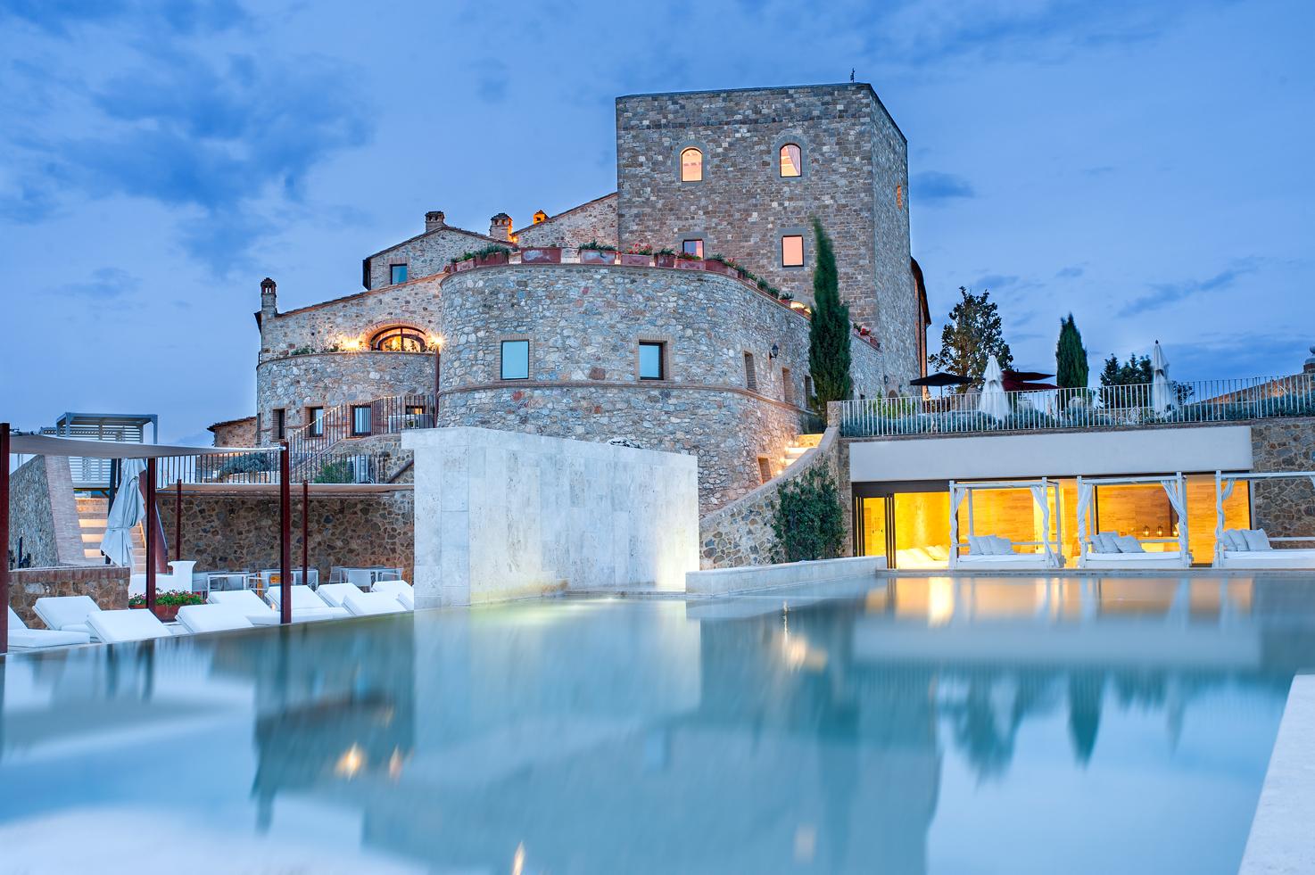 Exterior of Castello di Velona