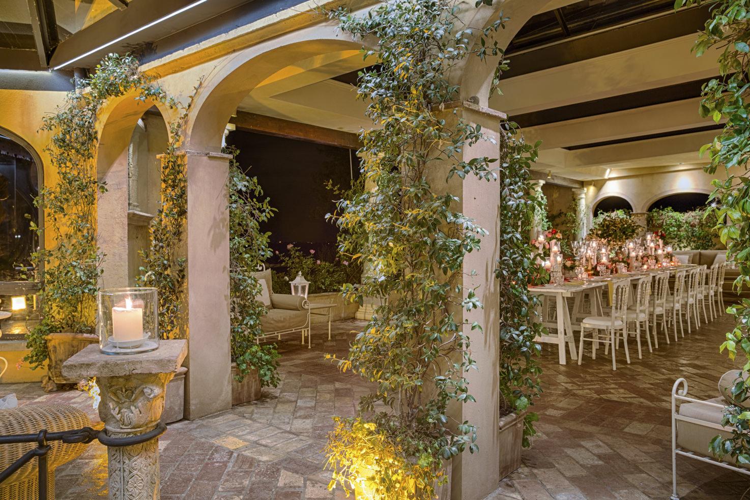 Wedding reception at Fattoria di Paterno