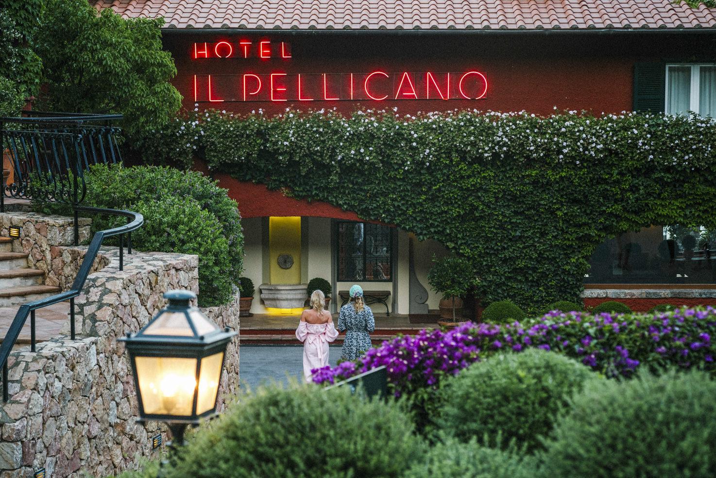 Arrival at Il Pellicano