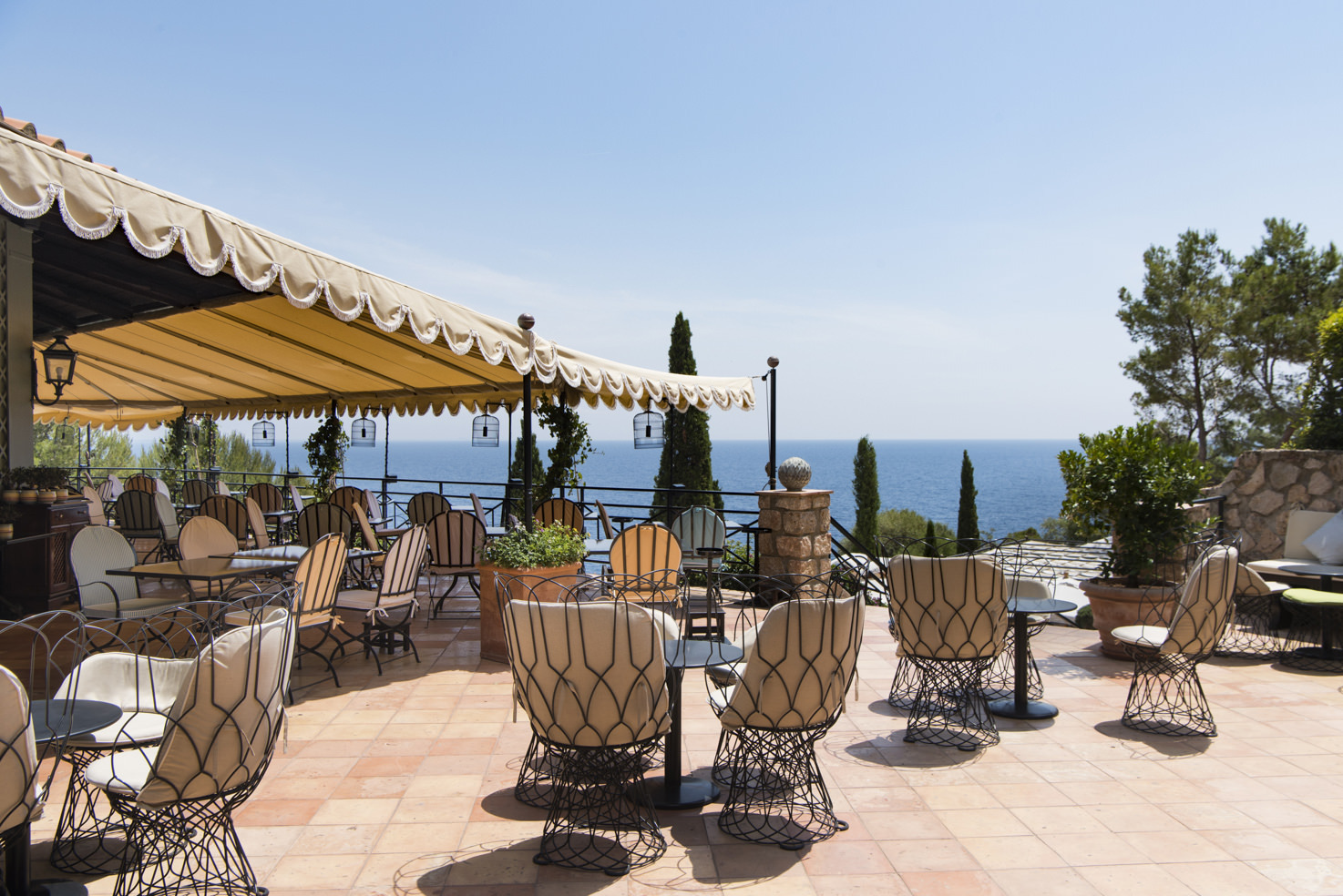 Il Pellicano bar terrace