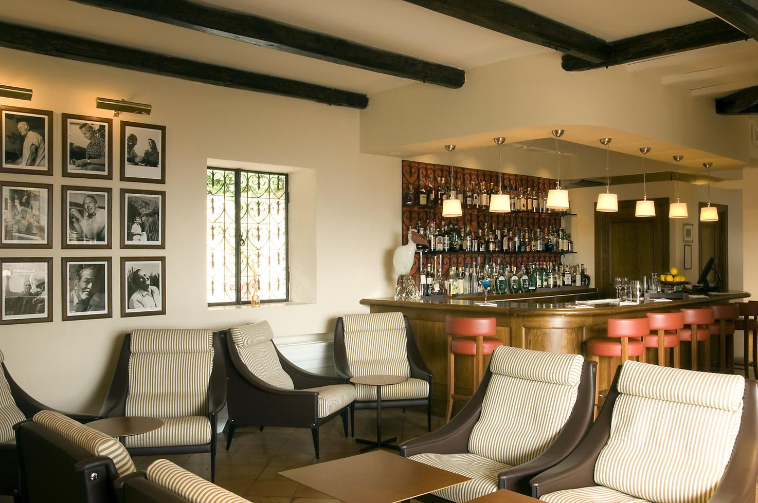 Interior of the bar