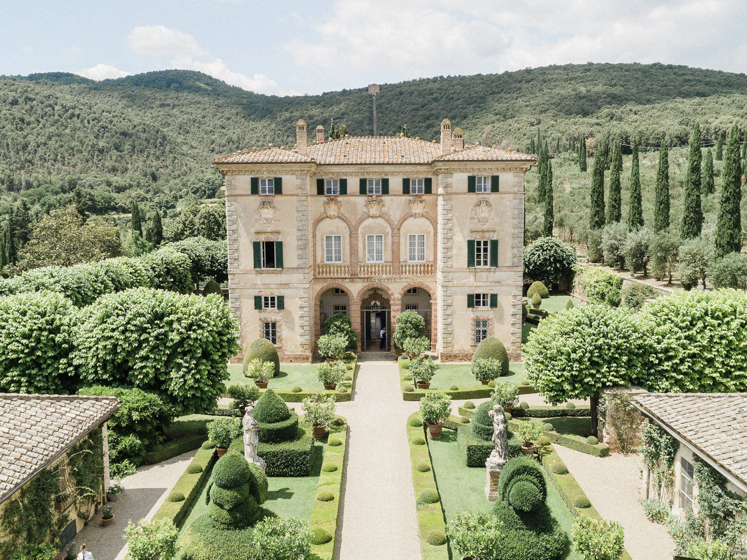 Villa Cetinale for weddings in Tuscany