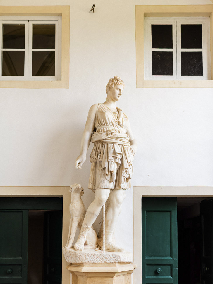 Marble statue of Artemis