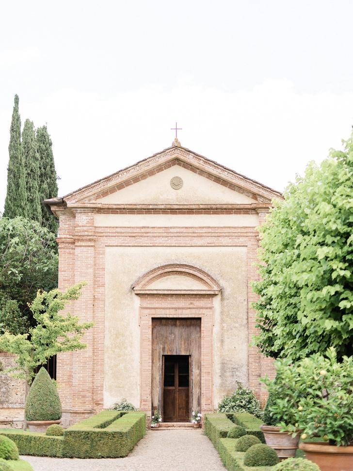 Ancient chapel of Villa Cetinale