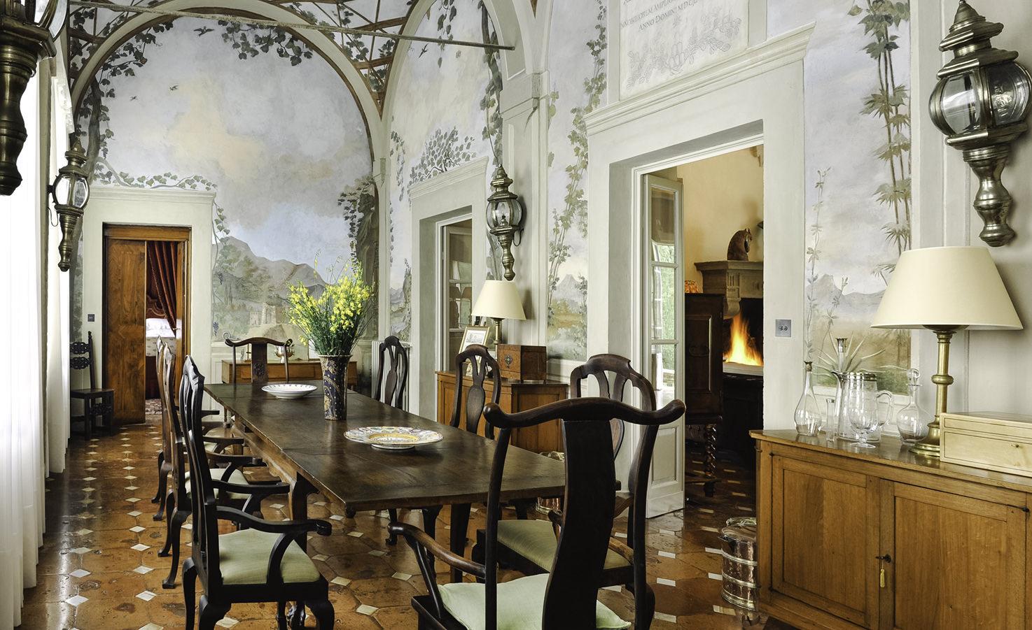 Interior of Villa Cetinale