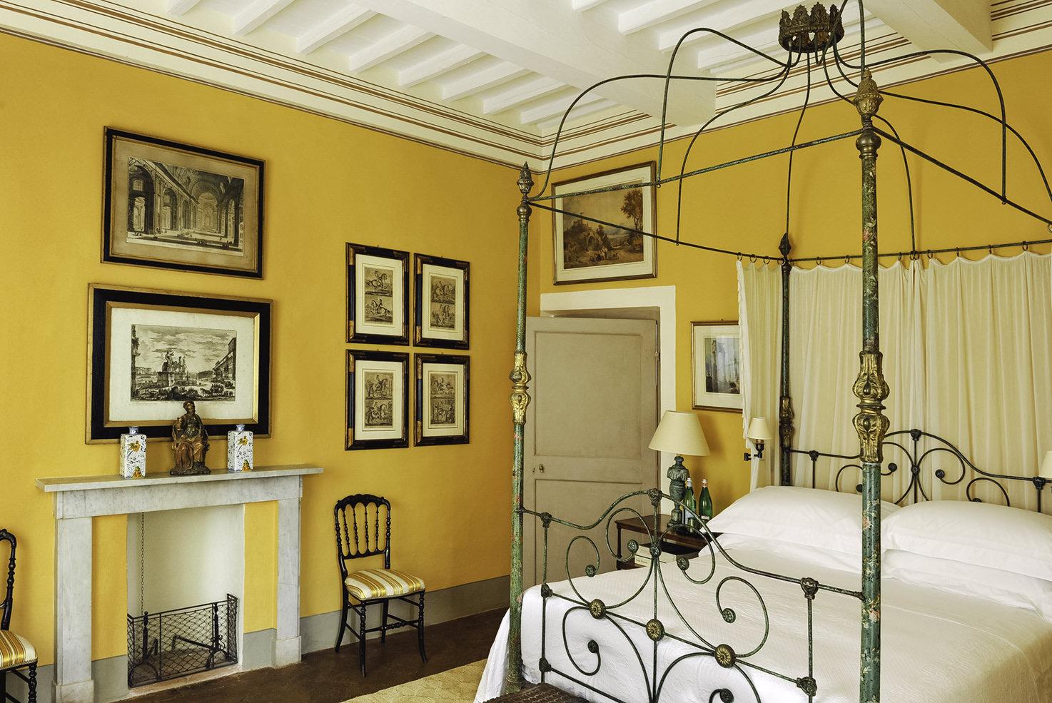 Bedroom at Villa Cetinale