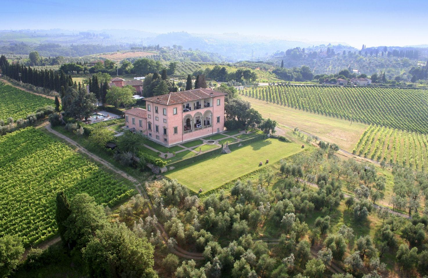 Villa Mangiacane in Chianti, Tuscany