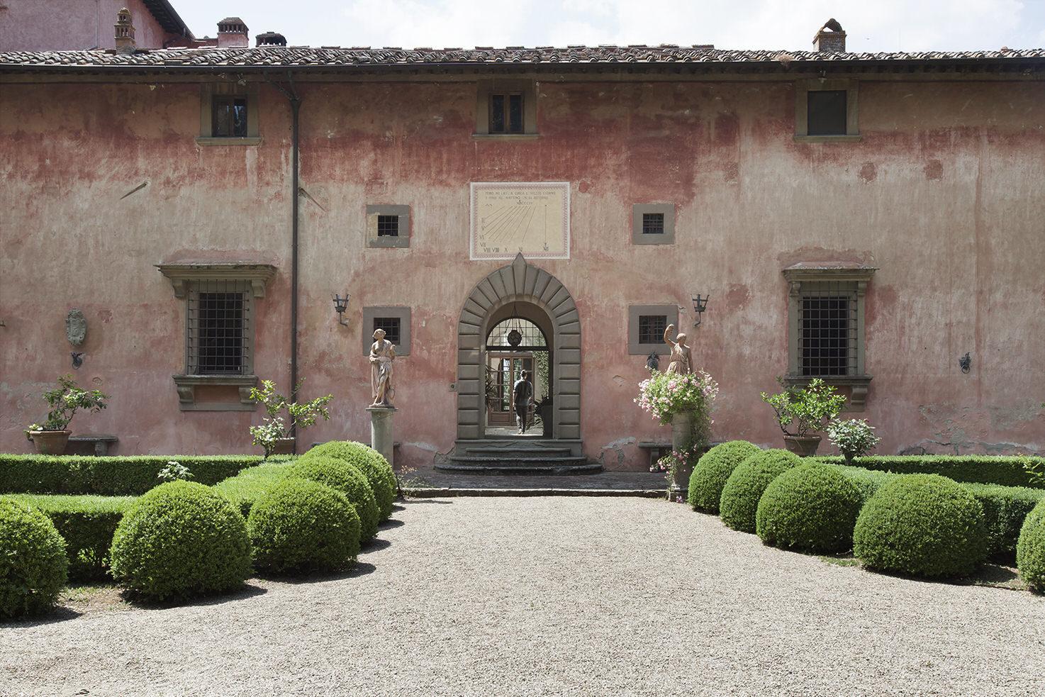 Façade of Villa Vignamaggio