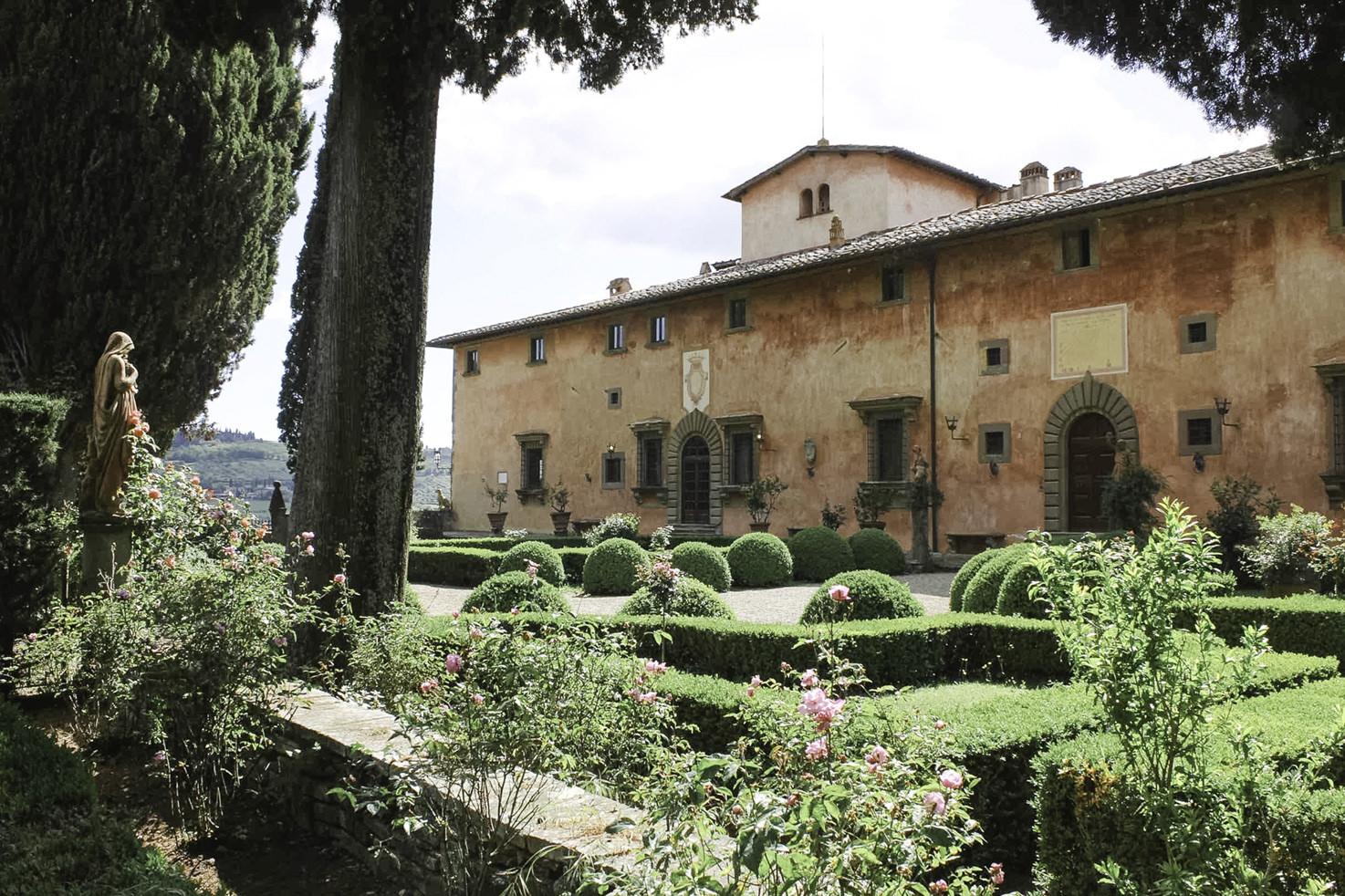 Gardens of Villa Vignamaggio