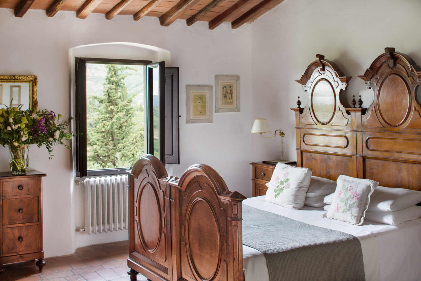 Room with view over the countryside