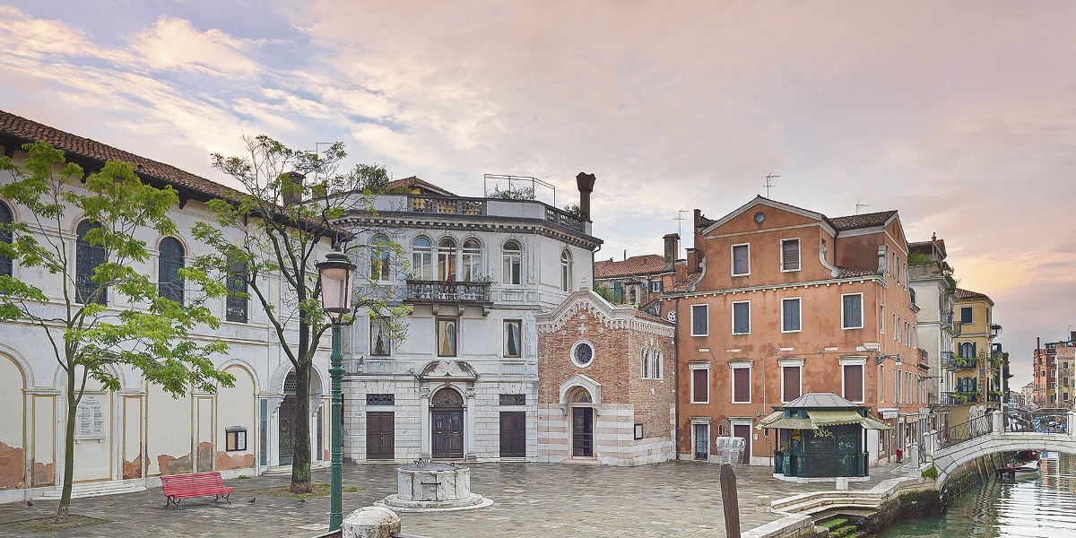 Anglican church St. George in Venice