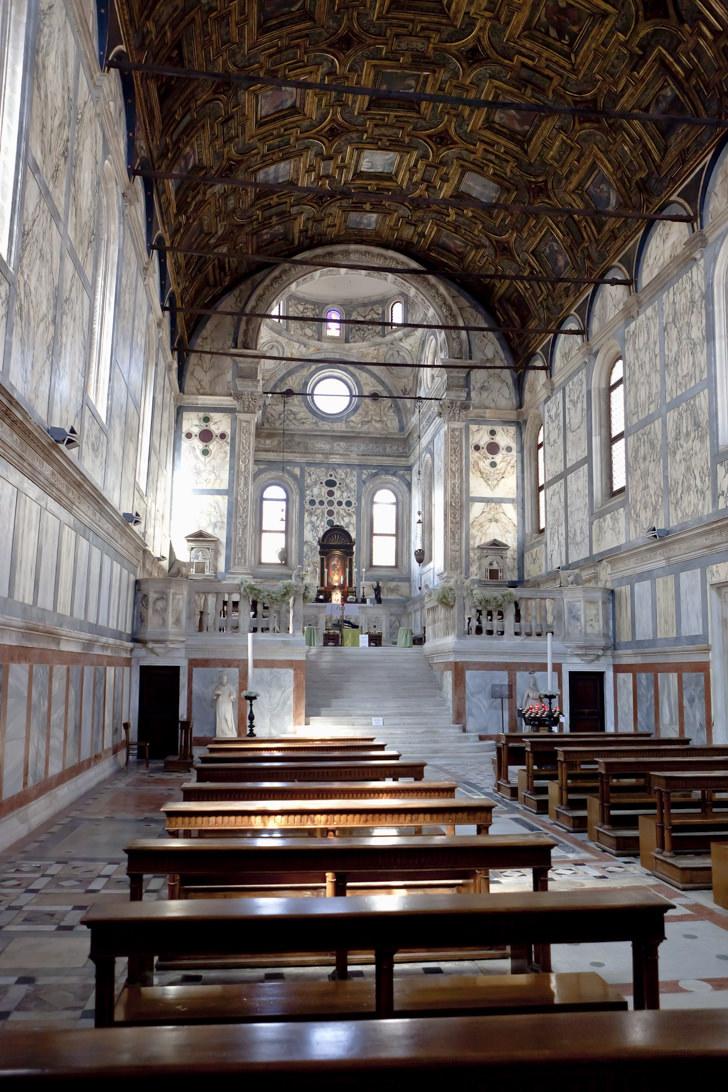 Interior of Chiesa dei Miracoli, Venice
