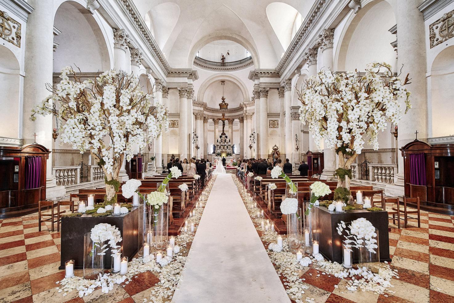 Catholic wedding at Basilica del Redentore