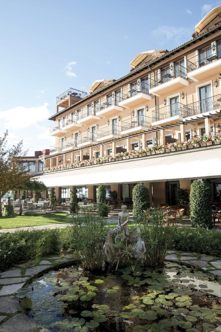 Façade of Belmond Hotel Cipriani