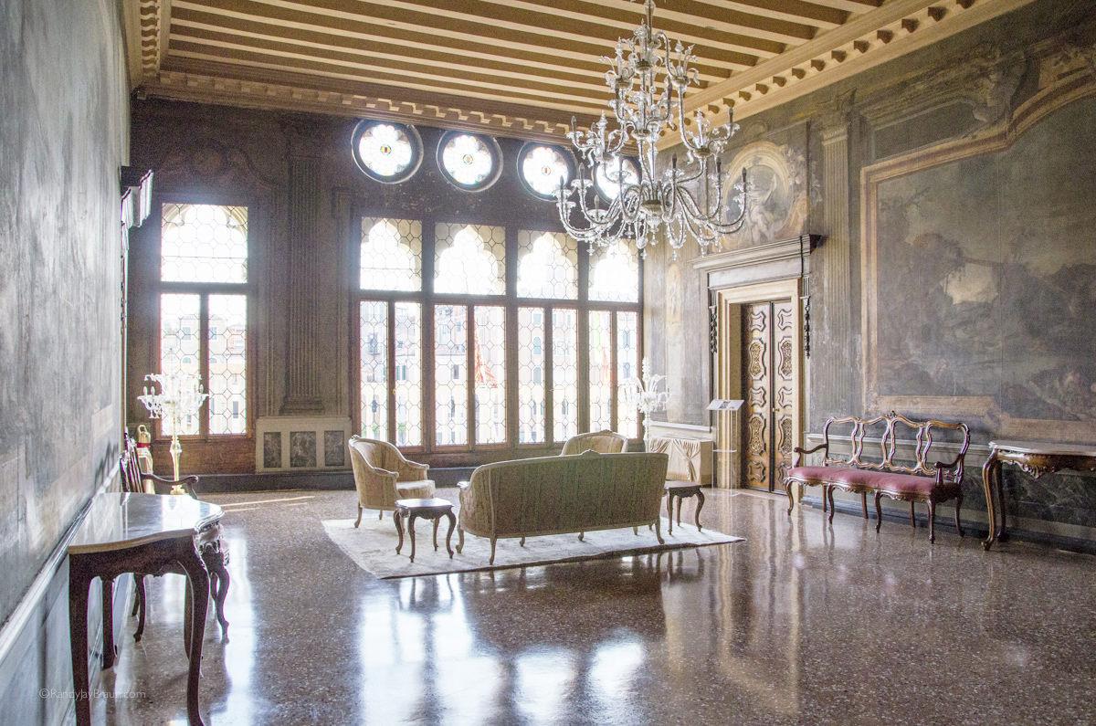 Portego Hall at Cà Sagredo
