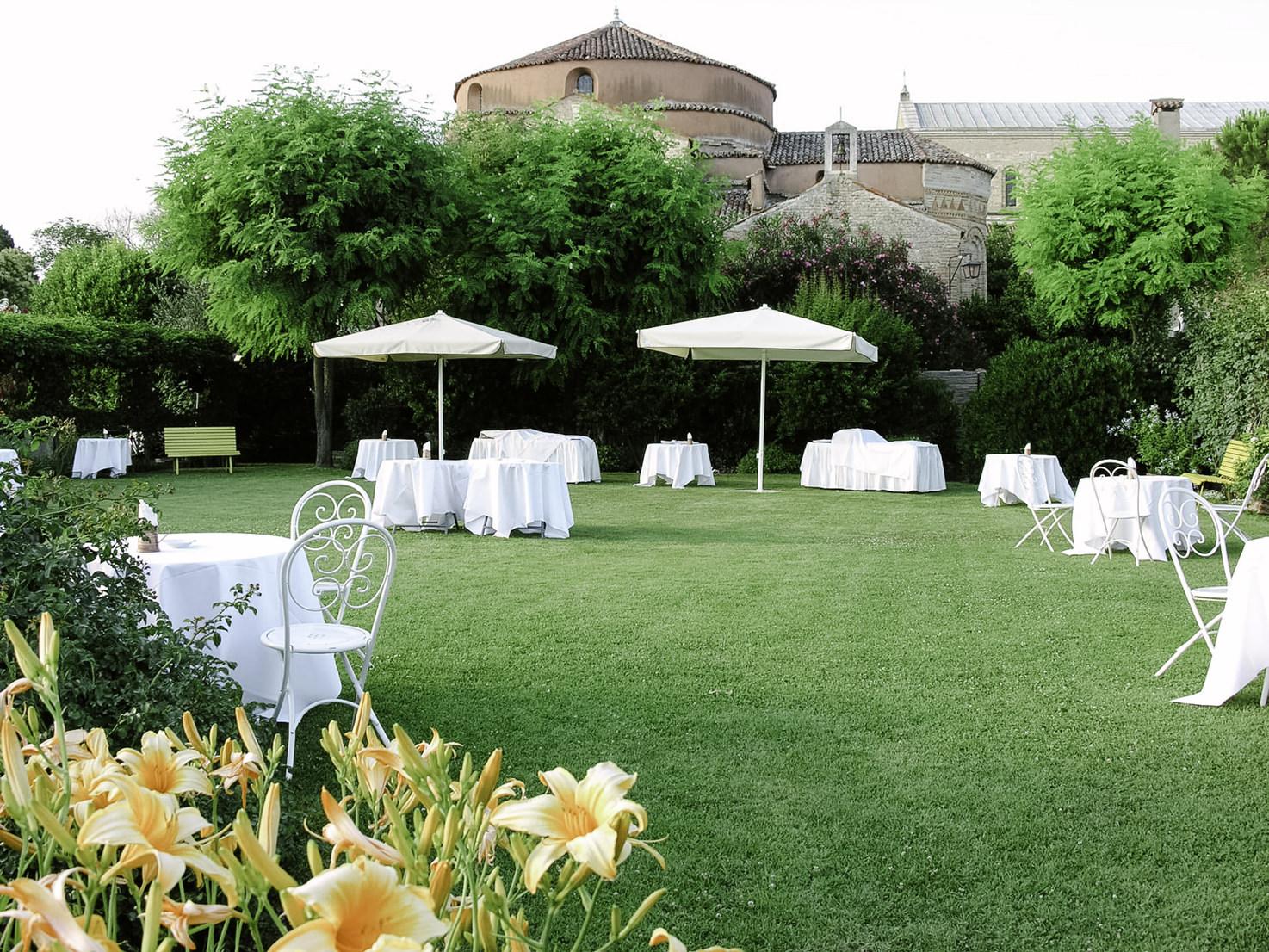 Gardens of Locanda Cipriani, Venice