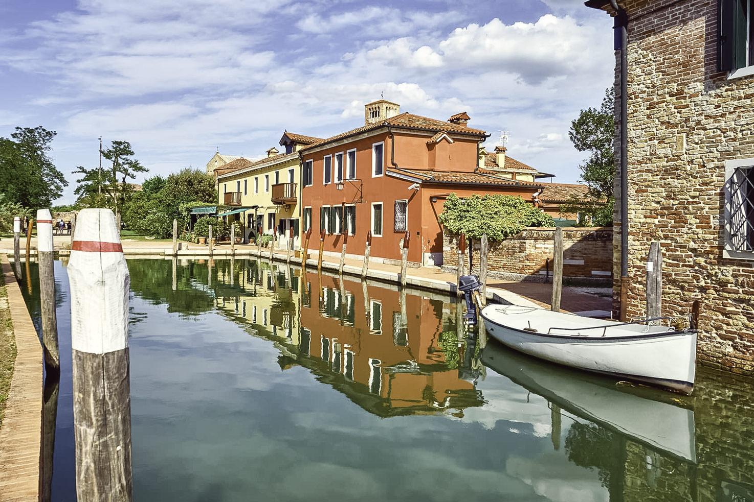 Locanda Cipriani on the island of Torcello, Venice