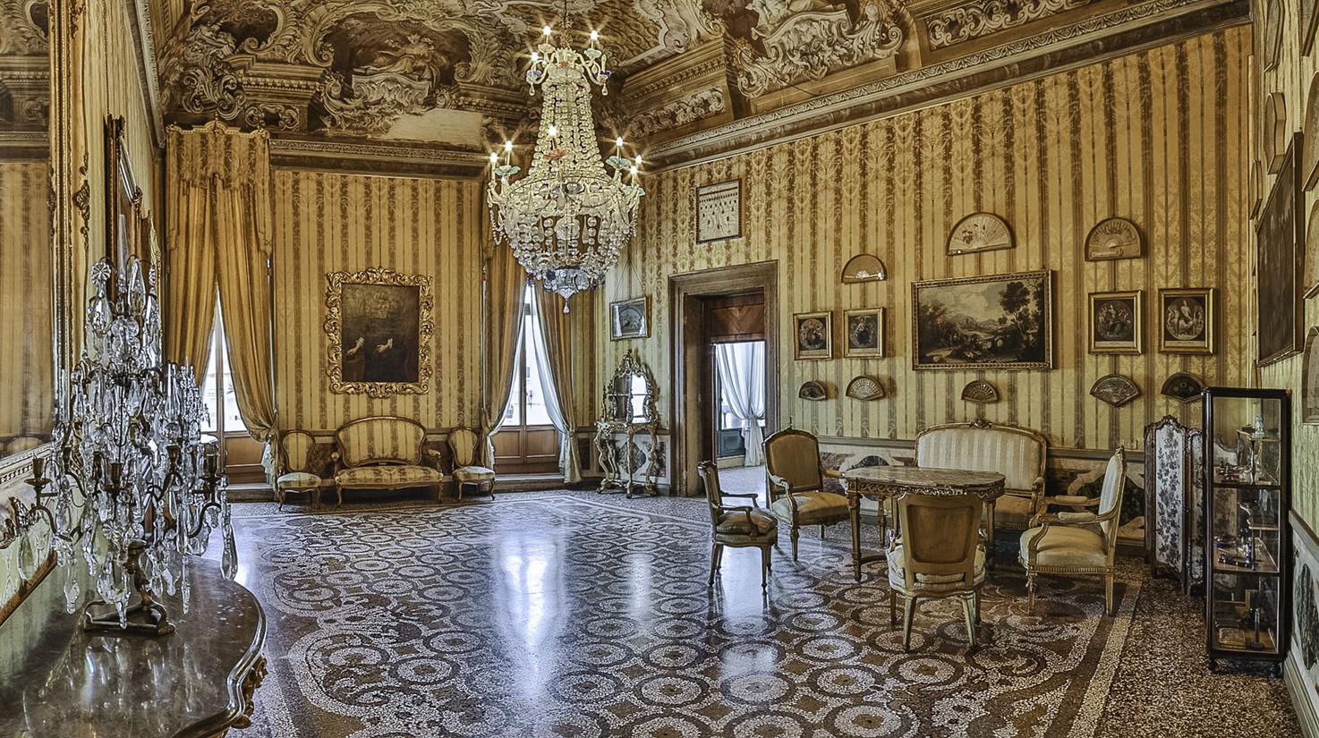 Palazzo Pisani Moretta, Apollo Hall