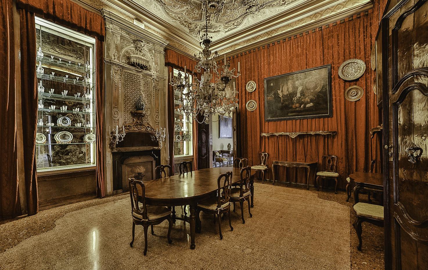 Palazzo Pisani Moretta, Dining Room