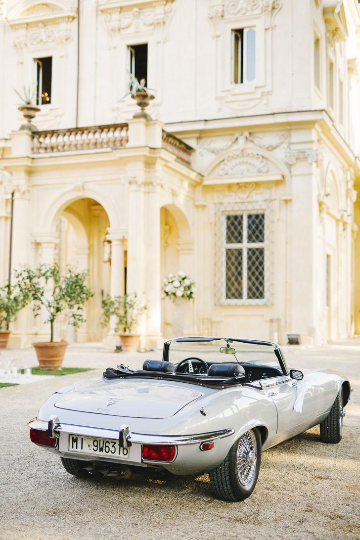 Luxury car fo wedding in Rome