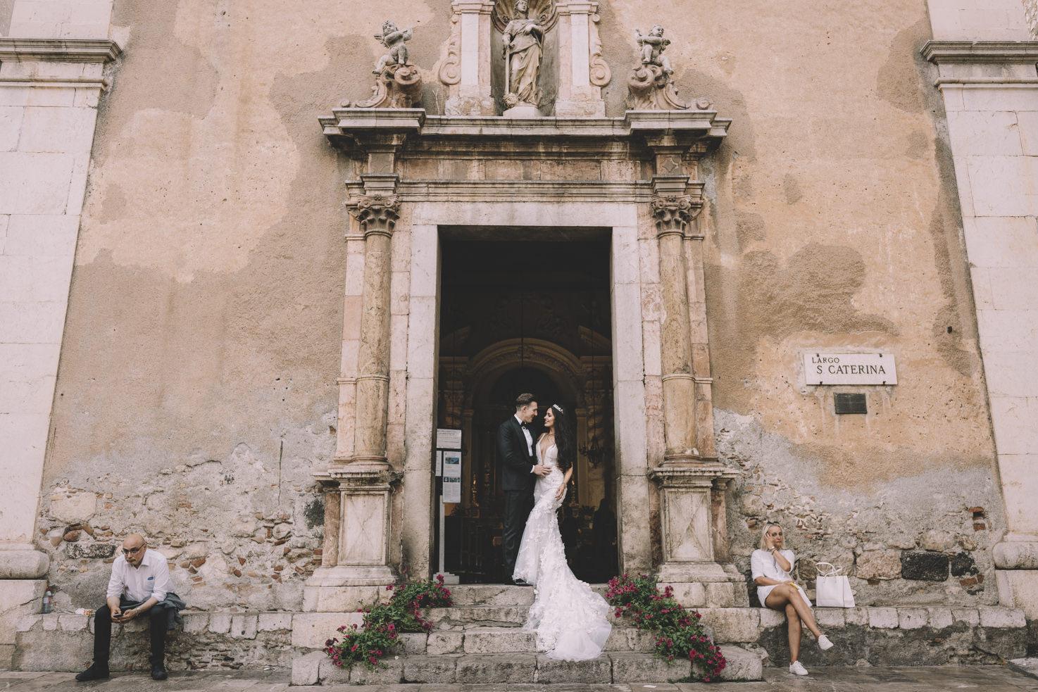 Baroque church in Sicily