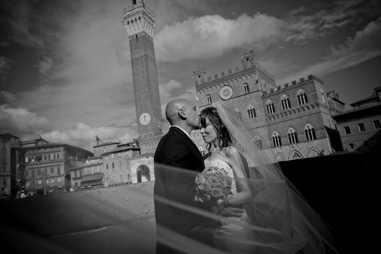 Destination wedding in Siena