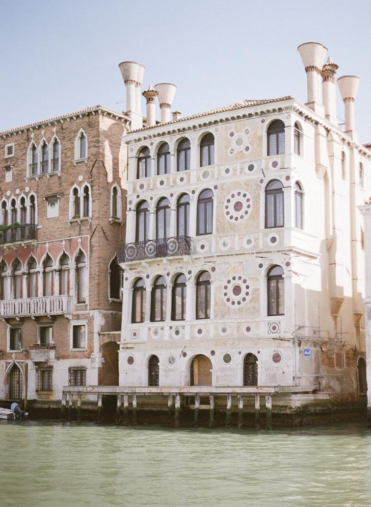 Renaissance palaces in Venice