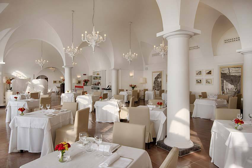 Hall for wedding receptions in Amalfi