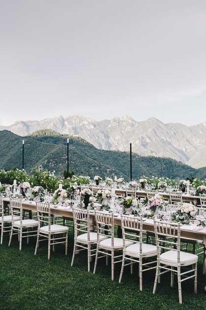 Ravello wedding reception