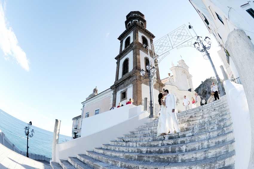 Church for Amalfi Coast weddings