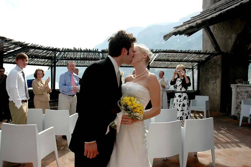 Protestant wedding in Amalfi
