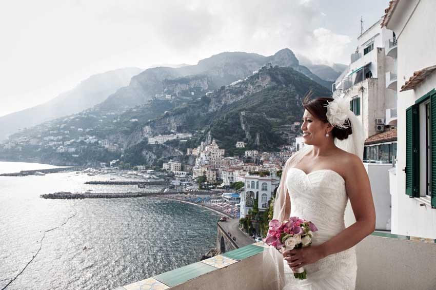 Panorama of Amalfi