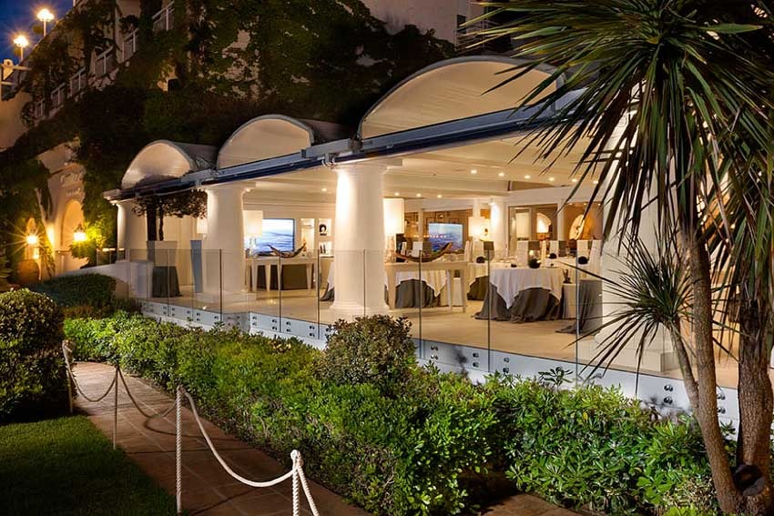 Capri Palace for wedding receptions in Capri