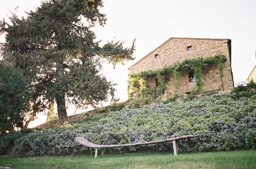 Gardens of Castello di Vicarello for weddings in Tuscany