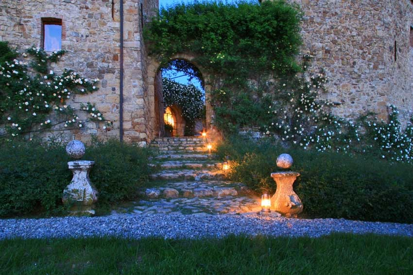 Castello di Vicarello in Tuscany