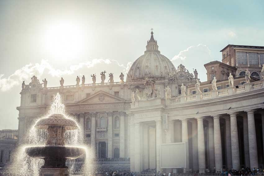 St Peters Basilica For Catholic Weddings In Rome
