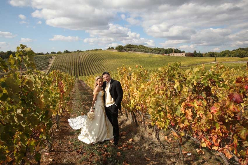 Tuscany wedding in Castellina in Chianti